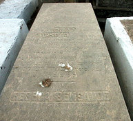 Tombstone of Rebeca Bensaude